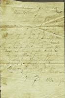 John M. Dillingham letter to father, January 13, 1864