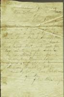 John M. Dillingham letter to father, January 13, 1864