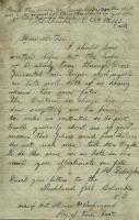 John M. Dillingham letter to mother, 1863