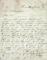Woodbury S. Purinton on capture of John M. Dillingham, 1863