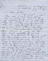 John M. Dillingham letter to mother, July 21, 1863