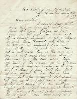 John M. Dillingham to his mother, May 15, 1863
