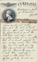 J. Monroe Dillingham to Margaret Dillingham, January 25, 1863