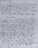 John M. Dillingham letter to mother, November 30, 1862