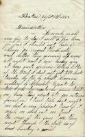 John M. Dillingham to his mother, September 5, 1862