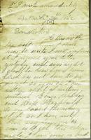 John M. Dillingham to his mother Margaret, August 31, 1862