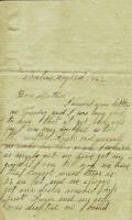 Letter written by John M. Dillingham to his mother Margaret, August 22, 1862