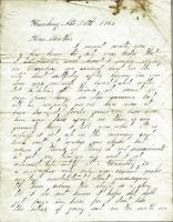 John M. Dillingham letter to mother, November 21, 1861