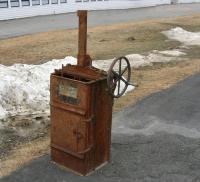 Schick bailing press, Littleton, ca. 1920