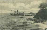 Maquoit ferry, Chebeague Island, 1915