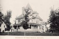Fred French residence, Houlton, 1895