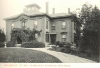 Home of John C. and Marianna Madigan, Houlton, ca. 1895
