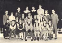 Junior Grange officers, Deer Isle, ca. 1960