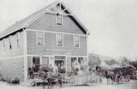 Hall Quarry Company Store, Mount Desert, ca. 1900
