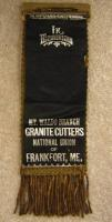 Granite Cutters National Union badge