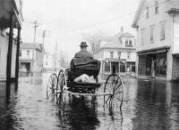 Carriage in Flood, Danforth, 1923
