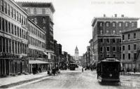 Exchange Street, Bangor, 1907