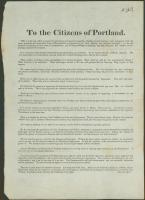 Arguments against separation from Massachusetts, 1819