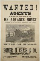 Ad for nursery sales agents, Auburn, ca. 1880