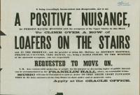 Anti-loafing broadside, Wiscasset, ca. 1871