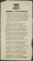 Ballad, More Lynching, 1835