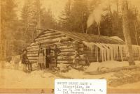 Swift Brook Camp, Stacyville, ca. 1895