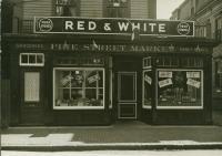 Pine Street Market, Portland, ca. 1950