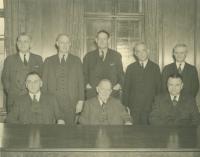 Portland National Bank officers, 1939
