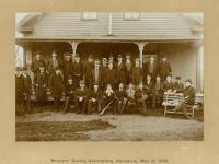 Banker's Outing Association, Portland, 1895