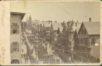 Grand Army of the Republic parade, Portland, 1885