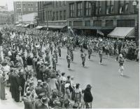 Deering High School band, Portland, 1946