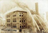 Fire, Deering High School, Portland, 1921