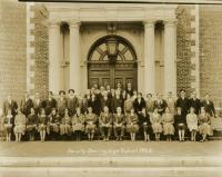 Faculty, Deering High School, Portland, 1926