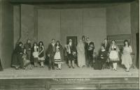 Deering High School play, Portland, 1925