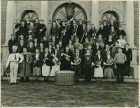 Band, Deering High School, Portland, 1932-1933