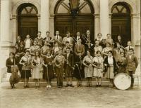 Orchestra, Deering High School, Portland, 1926