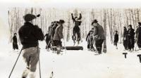 Ski jump, New Sweden, ca. 1935