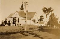 Swedish Baptist Church of New Sweden, ca. 1938