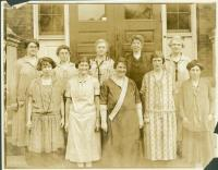 Teachers, Emerson School, Portland, 1925