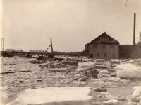 St. John River in Van Buren, ca. 1920