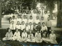 Sixth grade, Longfellow School, Portland, ca. 1923