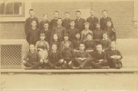 North School, Portland, graduates, 1886