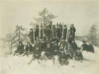 Roosevelt School students, Portland, ca. 1920