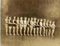 Girls' swim class, Portland, 1928