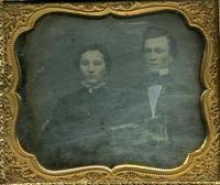 Portrait of James B. and Marilla Quinnan Hobbs