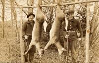Deer hunters, Stockholm, ca. 1930