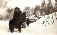 Lombard Log Hauler, Stockholm, c. 1920