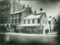 Congress at Brown Street, Portland, ca. 1890