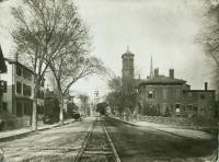 Park and Congress streets, Portland, ca. 1880