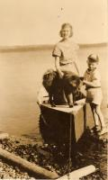 Boating on Madawaska Lake, ca. 1930